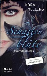 """Cover Schattenblüte mit Eindruck """"unverkäufliches Leseexemplar"""""""